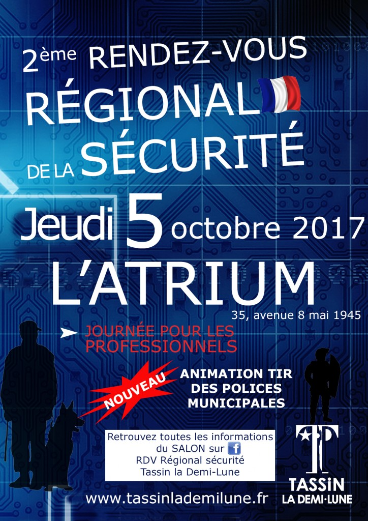 Tract invitation salon TASSIN 2017